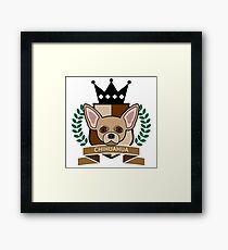 Chihuahua Coat of Arms Framed Print