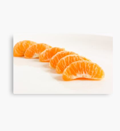 Orange Pods Canvas Print