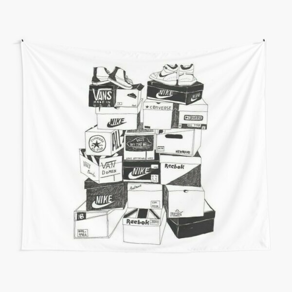 Sneaker Boxes Tapestry