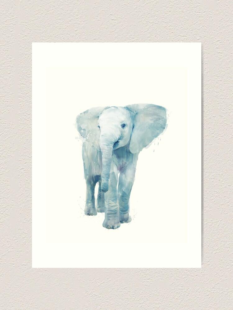 Alternate view of Elephant Art Print