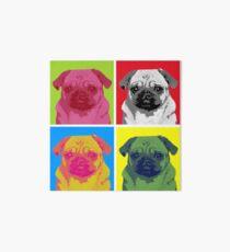 Pop Art Pug Art Board