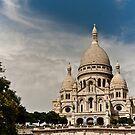 Le Sacre Coeur,Paris. by Davide Ferrari