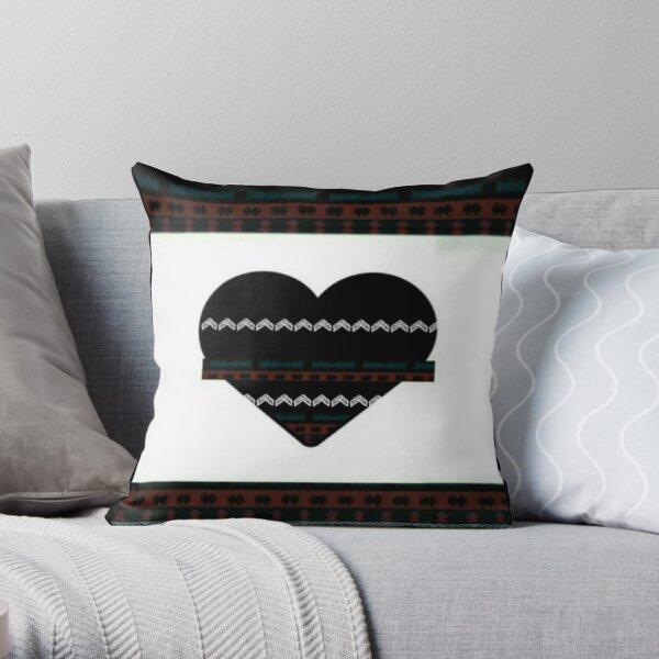 Hearts pattern design Throw Pillow