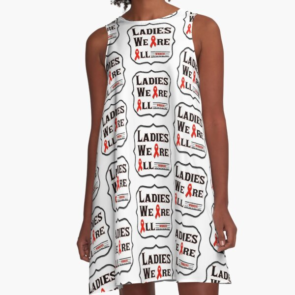 Ladies We Are All Winners A-Line Dress