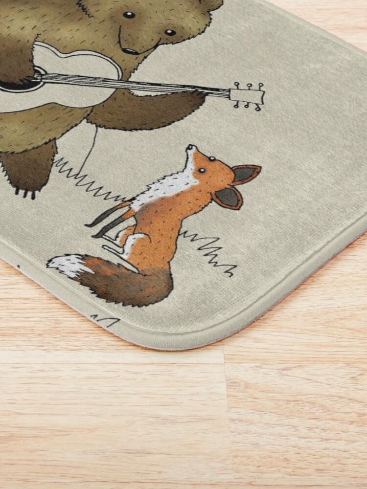 Alternate view of Bear & Fox Bath Mat