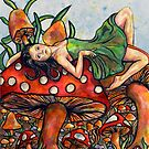 Mushroom Garden by Rachelle Dyer