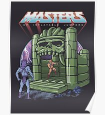 Inflatable Castle Grayskull Jumper Poster
