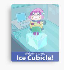 Ice Cubicle Metal Print