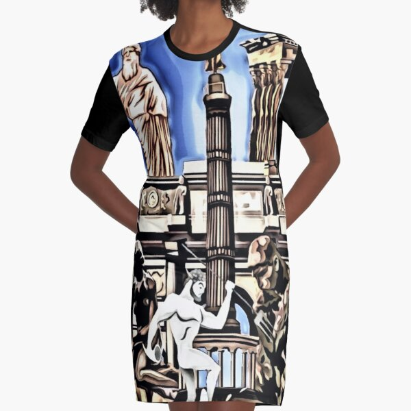 leo • theo | Ancient times Graphic T-Shirt Dress