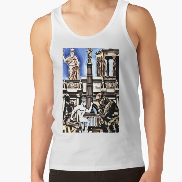 leo • theo   Ancient times Tank Top