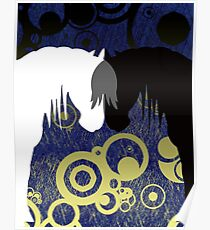 Eclipse Yin & Yang Horses Poster