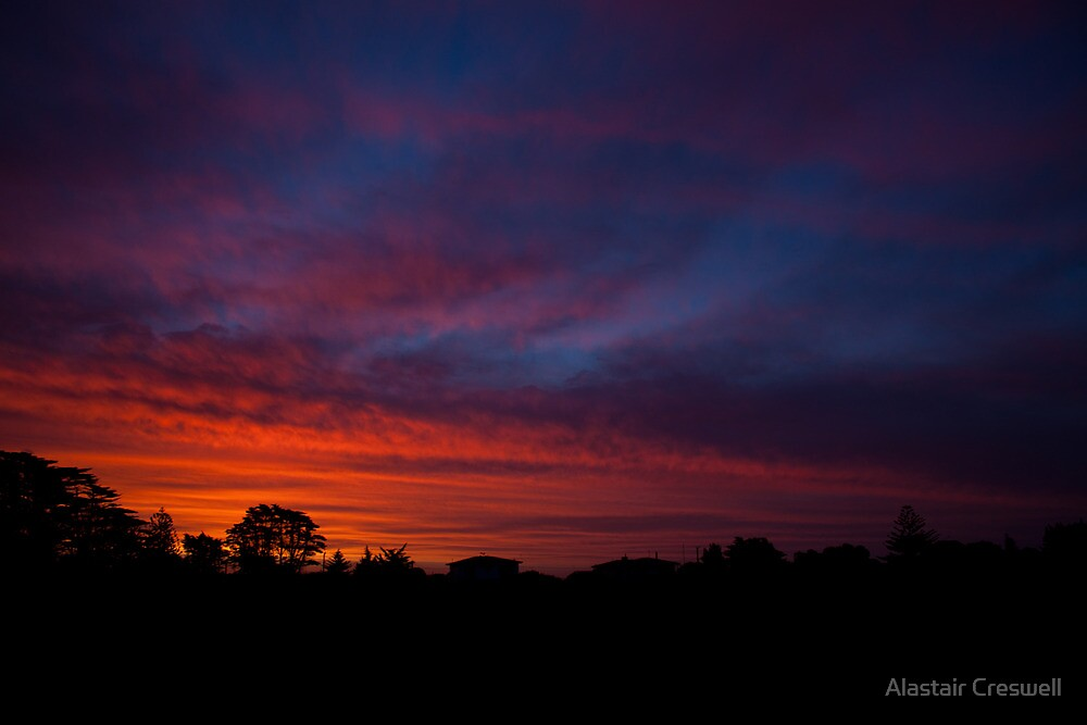 Sunset Low Head by Alastair Creswell
