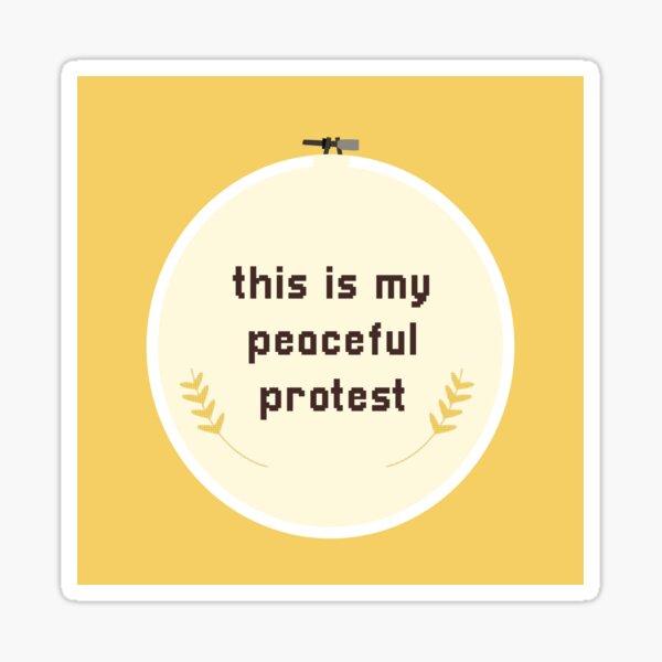 Craft Activism Sticker