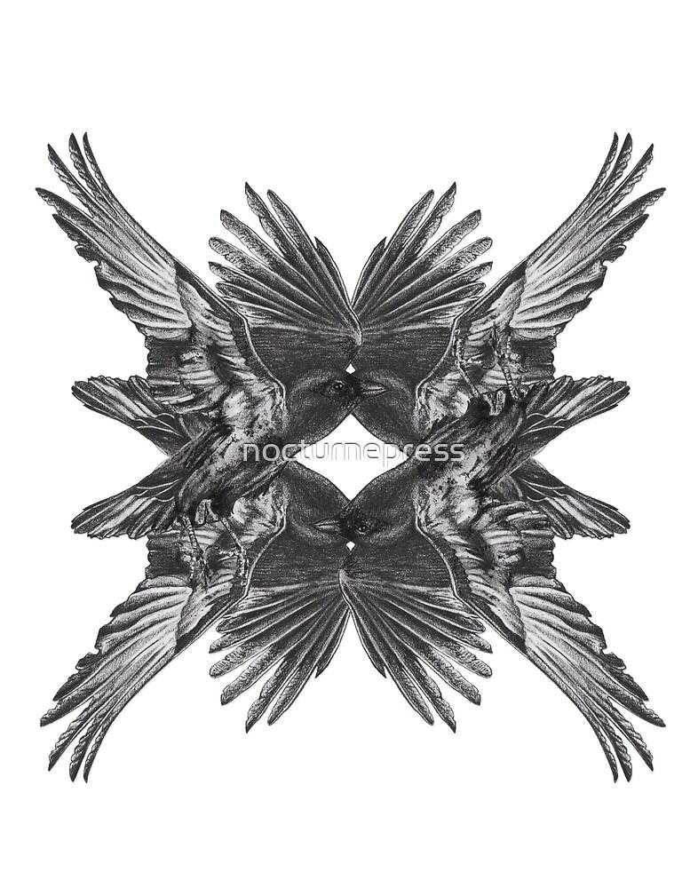 Black Crows by nocturnepress