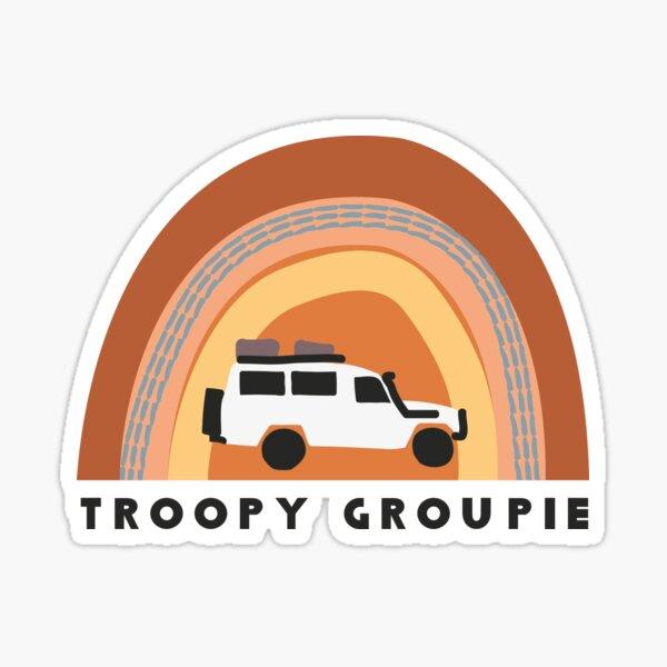 Troopy Groupie Sticker