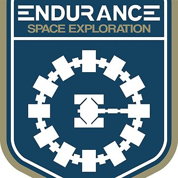 Interstellar Movie - Endurance Space Exploration by kevinspelican