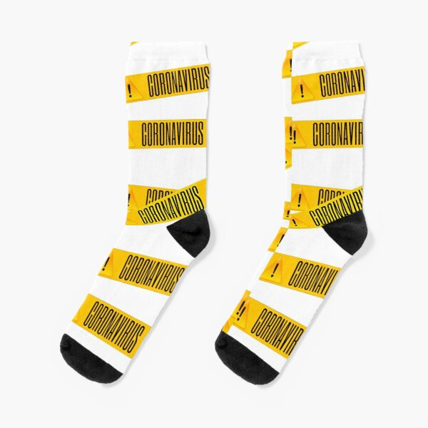 Yellow And White Pitter Pattern #2 Men-Women Adult Ankle Socks