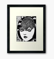 Uzumaki – Eye Framed Print