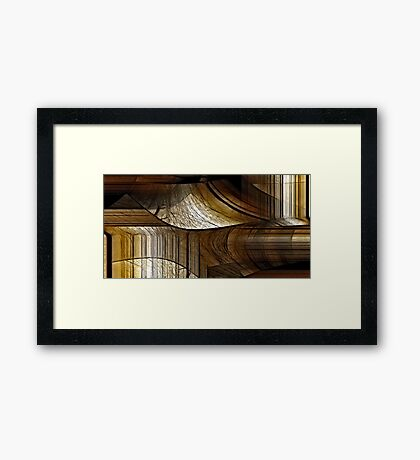 This is where I am Framed Print