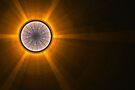 The sun is rising by Benedikt Amrhein