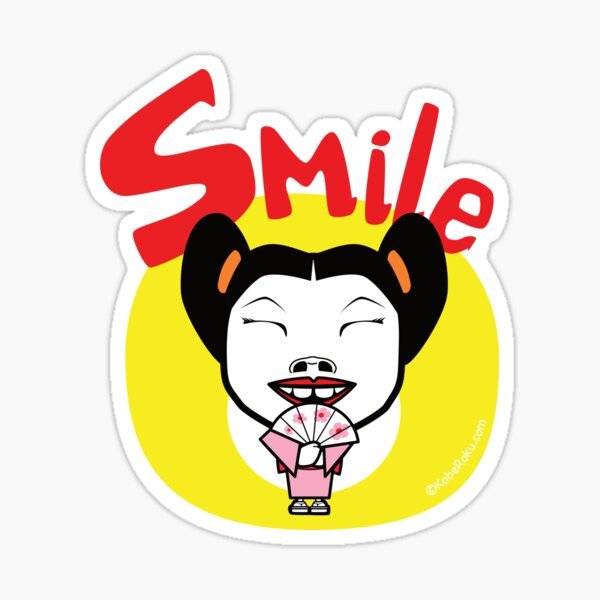 Smile!! Sticker