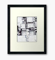 Death of a Patriot Framed Print
