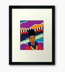 Gold 90's Framed Print