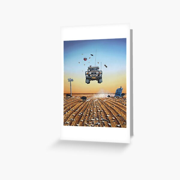 Are We There Yet?! Moonie. Greeting Card