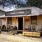 Board & Lodging ~ Australian Pioneer Village, Wilberforce by Rosalie Dale