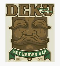 Deku Nut Brown Ale Photographic Print