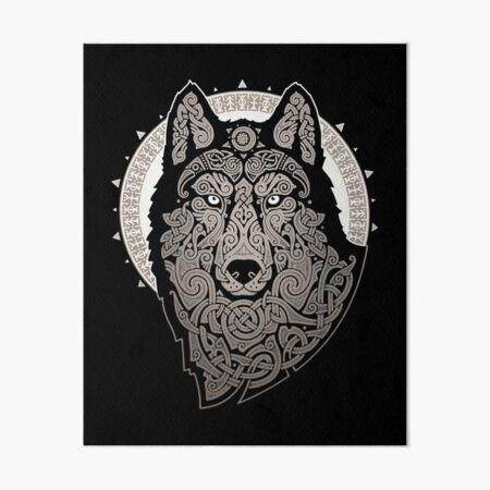 NORTHERN WOLF Art Board Print