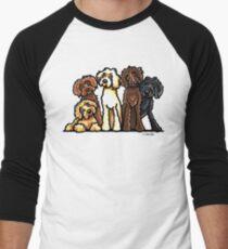 Doodle Rainbow Men's Baseball ¾ T-Shirt