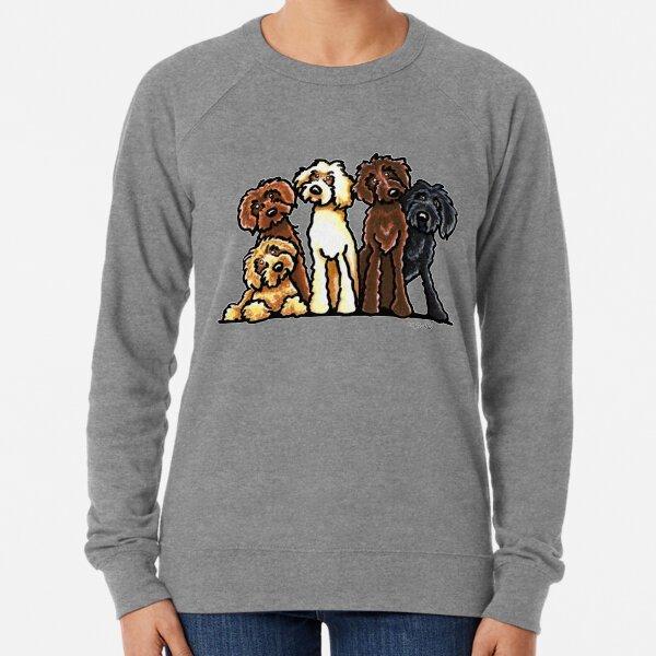 Doodle Rainbow Lightweight Sweatshirt