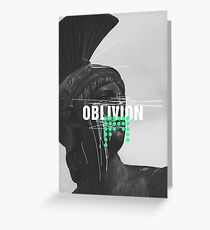 Oblivion Greeting Card
