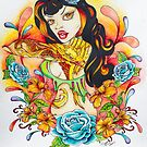 Pin Up Art - Comic Art - Flight of the Phoenix by Concetta Kilmer