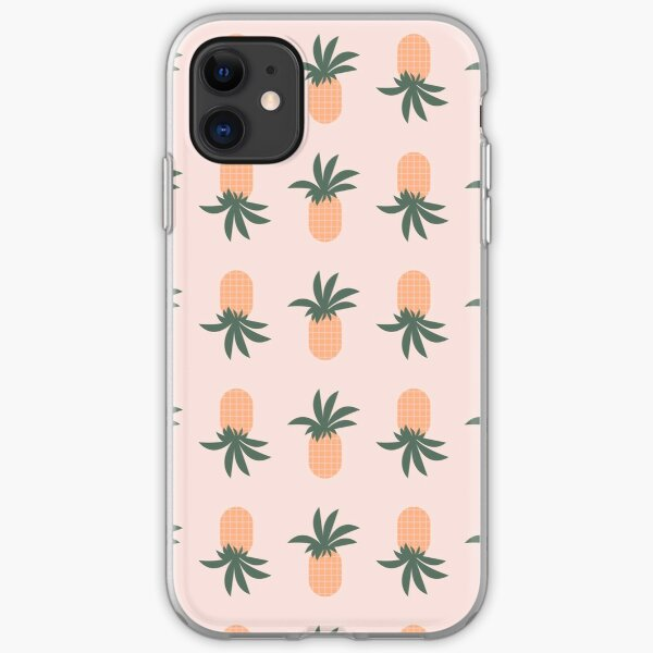 Fun pineapples iPhone Soft Case