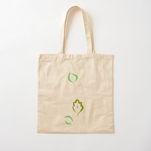 Cute Leaflets Cotton Tote Bag