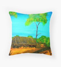 Outback Life Throw Pillow