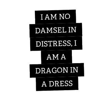 Damsel in Distress by aimeedraper