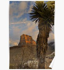 El Capitan At Sunrise - Guadalupe Mountains Poster