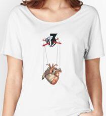 heart manipulation Women's Relaxed Fit T-Shirt