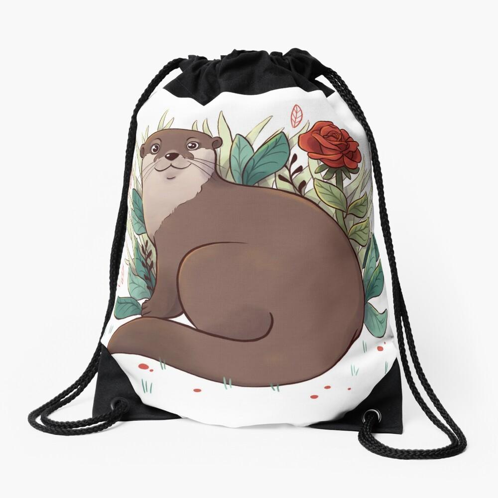 Otter Drawstring Bag