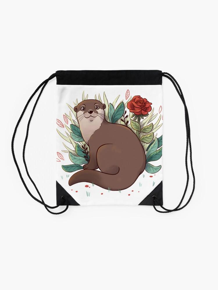 Alternate view of Otter Drawstring Bag