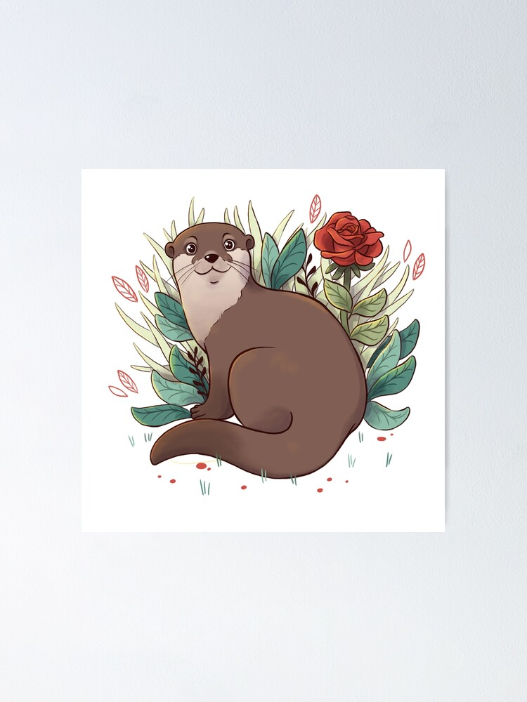 Alternate view of Otter Poster