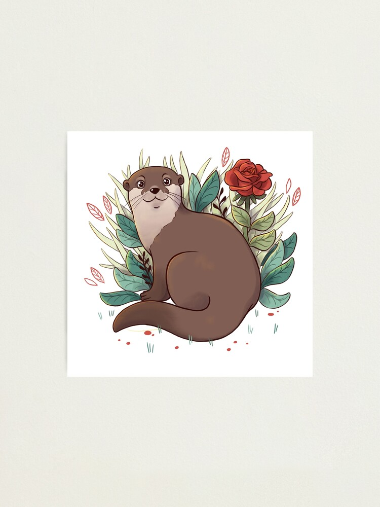 Alternate view of Otter Photographic Print
