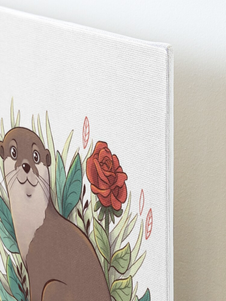 Alternate view of Otter Mounted Print