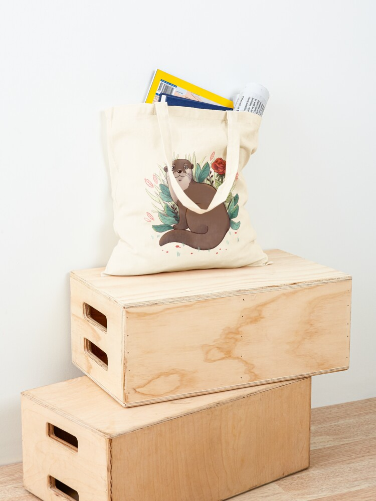 Alternate view of Otter Tote Bag