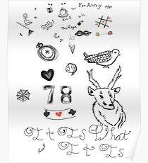 Louis Tattoos Poster