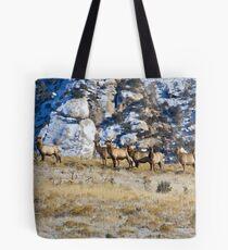 Raghorn's Herd Tote Bag