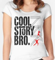 West Side Story, Bro. (Black) Women's Fitted Scoop T-Shirt